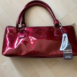 NWT insulated wine clutch-versatile & cool